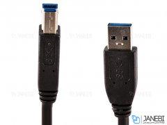 کابل پرینتر بافو BAFO USB 3.0 Type-A Male to Type-B Male Printer Cable 2m