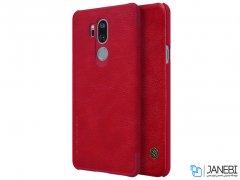 کیف چرمی نیلکین ال جی Nillkin Qin leather case LG G7 ThinQ