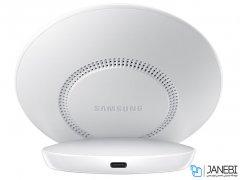 شارژر بی سیم و آداپتور سامسونگ Samsung Fast Wireless Stand With Wall Charger