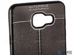 قاب ژله ای طرح چرم سامسونگ Auto Focus Jelly Case Samsung Galaxy A7 2016