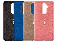 قاب محافظ طرح پارچه ای نوکیا Protective Cover Nokia 7 plus