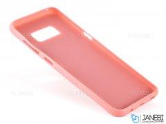 قاب محافظ طرح پارچه ای سامسونگ Protective Cover Samsung Galaxy S8
