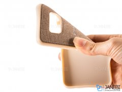قاب محافظ طرح پارچه ای سامسونگ Protective Cover Samsung Galaxy S8 Plus