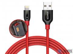 کابل شارژ و انتقال داده لایتنینگ انکر Anker PowerLine+ Lightning Cable 0.9m