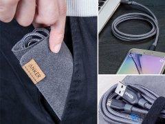 کابل شارژ و انتقال داده میکرو یو اس بی انکر Anker PowerLine+ Micro USB Cable 0.9m