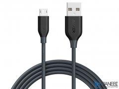 کابل شارژ و انتقال داده میکرو یو اس بی انکر Anker PowerLine Micro USB Cable 1.8m