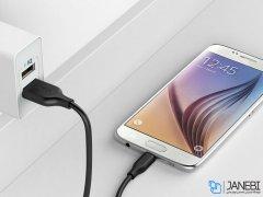 کابل شارژ و انتقال داده میکرو یو اس بی انکر Anker PowerLine Micro USB Cable 3m