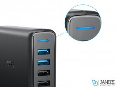 پاور هاب 5 پورت سریع انکر Anker PowerPort 5 with Dual Quick Charge 3.0 Charger