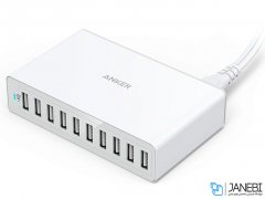 پاور هاب 10 پورت انکر Anker PowerPort 10 60W Desktop Charger
