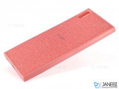 قاب پارچه ای سونی Protective Cover Sony Xperia XA1 Ultra