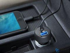 شارژر فندکی با کابل لایتنینگ انکر Anker PowerDrive 2 Elite Lightning Car Charger