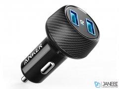 شارژر فندکی سریع انکر Anker PowerDrive Speed 2 Port Car Charger