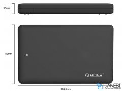 باکس هارد اینترنال به اکسترنال اوریکو Orico 2.5 inch USB3.0 Hard Drive Enclosure 2599US3