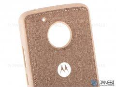 قاب محافظ طرح پارچه ای موتورولا Protective Cover Motorola Moto G5