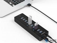 هاب یو اس بی 10 پورت اوریکو Orico 10 Port USB3.0 HUB P10-U