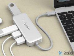 هاب تایپ سی 4 پورت اوریکو Orico Type-C to USB3.0-A  4 HUB TC4U-U3
