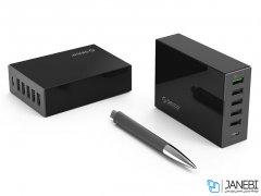 پاور هاب 6 پورت اوریکو Orcio 6 Port Desktop Charger TSL-6U