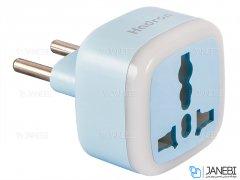 مبدل برق و محافظ هادرون Hadron HTH-A10 Surge Protector and Adaptor