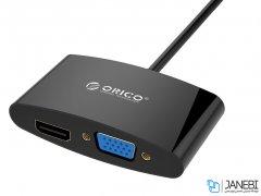 مبدل مینی دیسپلی پورت به اچ دی ام آی و وی جی ای اوریکو Orico Mini DisplayPort to HDMI / VGA Adapter DMP-HV2