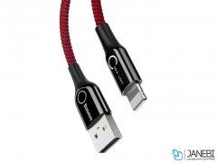 کابل لایتنینگ هوشمند بیسوس Baseus C-shaped Lightning Cable 1m
