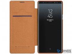 کیف چرمی نیلکین سامسونگ Nillkin Qin Leather Case Samsung Galaxy Note 9