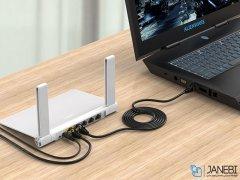 کابل شبکه اوریکو Orico CAT7 LAN Cable PUG-C7 1m