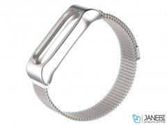 بند فلزی آهن ربایی دستبند سلامتی Xiaomi Metal Mi Band 2 Magnetic Strap