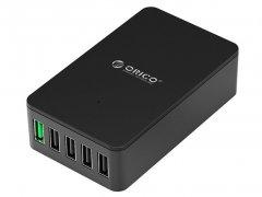 پاور هاب 5 پورت اوریکو Orcio 5 Port USB Smart Desktop Charger QSE-5U