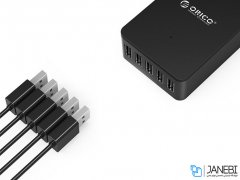 پاور هاب 5 پورت اوریکو Orcio 5 Port USB Smart Desktop Charger CSE-5U