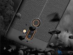 قاب ژله ای طرح چرم نوکیا Becation Auto Focus Case Nokia 7 Plus