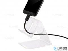 پایه نگهدارنده رومیزی و ویترینی گوشی Mobile Stand