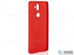قاب ژله ای طرح چرم نوکیا Becation Auto Focus Case Nokia 8 Sirocco
