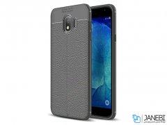 قاب ژله ای طرح چرم سامسونگ Becation Auto Focus Case Samsung Galaxy J4