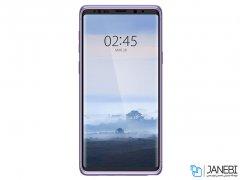 قاب محافظ و محافظ صفحه شیشه ای اسپیگن سامسونگ Spigen Thin Fit 360 Case Samsung Galaxy Note 9