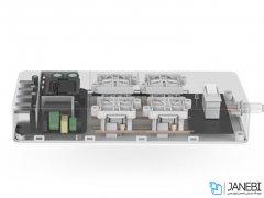 چند راهی 4 سوکت و 5 یو اس بی اوریکو ORICO 4 AC with 5 USB Charging Port HPC-4A5U-V1