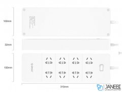 چند راهی 5 سوکت و 8 یو اس بی اوریکو Orico 8 AC with 5 USB Charging Port HPC-8A5U-V1