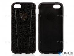 قاب محافظ چرمی آیفون Puloka Case Apple iPhone 5/5S/SE