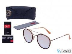 عینک آفتابی اورجینال ری بن Ray Ban RB 3647 F - 001/7O  SunGlasses