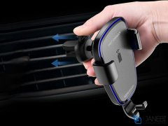 پایه نگهدارنده و شارژر وایرلس سریع توتودیزاین Totu Design Wit Series CACW-05 Fast Wireless Charger Car Mount