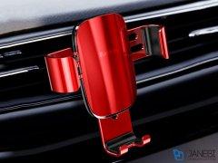 پایه نگهدارنده گوشی بیسوس Baseus Metal Age Gravity Outlet Car Mount