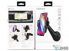 پایه و شارژر وایرلس مومکس Momax CM7 Qdock Wireless Charging Car Mount
