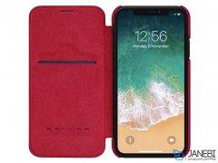 کیف چرمی نیلکین آیفون Nillkin Qin Leather Case iPhone XR