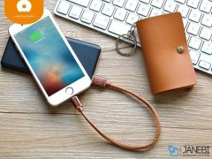 کابل شارژ لایتنینگ و میکرو یو اس بی WUW X79 Ligthning And Micro USB Cable 30CM