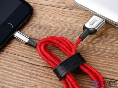 کابل لایتنینگ هوشمند بیسوس Baseus X-shaped Light Cable 1m