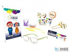 فریم عینک طبی بچگانه ربیت Rabbit R609 - C5 Medical Frame kids