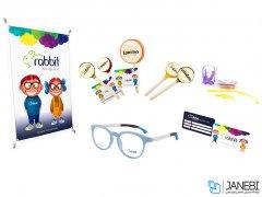 فریم عینک طبی بچگانه ربیت Rabbit R610 - C7 Medical Frame kids
