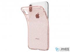 محافظ ژله ای اسپیگن آیفون Spigen Liquid Crystal Glitter Case Apple iPhone XS Max