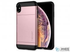 قاب محافظ اسپیگن آیفون Spigen Slim Armor CS Apple iPhone XS