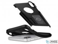 قاب محافظ اسپیگن آیفون Spigen Tough Armor Case Apple iPhone XS