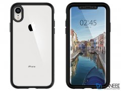 قاب و محافظ صفحه شیشه ای اسپیگن آیفون Spigen Ultra Hybrid 360 Case Apple iPhone XR